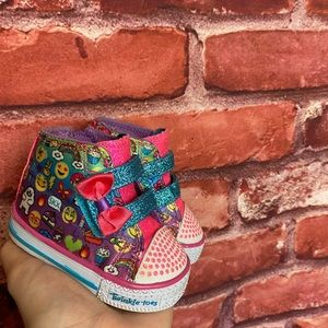 Baby Sketchers twinkle toes size 1